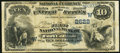 National Bank Notes:Colorado, Fort Collins, CO - $10 1882 Date Back Fr. 545 The First NB Ch. #(W)2622. ...