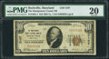 National Bank Notes:Maryland, Rockville, MD - $10 1929 Ty. 1 The Montgomery County NB Ch. # 3187....