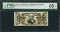 Fractional Currency:Third Issue, Fr. 1326 50¢ Third Issue Spinner PMG Gem Uncirculated 65 EPQ.. ...