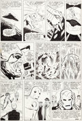 Original Comic Art:Panel Pages, Don Heck and Mike Esposito (as Mickey Demeo) Tales ofSuspense #66 Story Page 12 Iron Man Original Art (Marvel, 19...