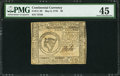Colonial Notes:Continental Congress Issues, Continental Currency May 9, 1776 $8 PMG Choice Extremely Fine 45.....