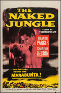 "Movie Posters:Adventure, The Naked Jungle (Paramount, 1954). Autographed One Sheet (27"" X41""). Adventure.. ..."