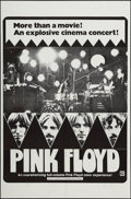 "Movie Posters:Rock and Roll, Pink Floyd (April Fools Productions, 1972). One Sheet (27"" X 41""). Rock and Roll.. ..."