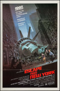 """Movie Posters:Science Fiction, Escape from New York (Avco Embassy, 1981). One Sheet (27"""" X 41""""). Science Fiction.. ..."""