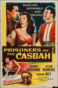 """Movie Posters:Adventure, Prisoners of the Casbah (Columbia, 1953). One Sheet (27"""" X 41"""").Adventure.. ..."""