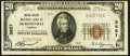 National Bank Notes:Oregon, McMinnville, OR - $20 1929 Ty. 1 United States NB Ch. # 3857. ...