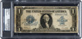 Baseball Collectibles:Others, 1923 Babe Ruth Signed Silver Certificate, PSA/DNA Authentic....