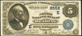 National Bank Notes:Pennsylvania, Reading, PA - $5 1882 Value Back Fr. 574 The Second NB Ch. #(E)2552. ...