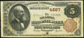 National Bank Notes:Pennsylvania, Reading, PA - $5 1882 Brown Back Fr. 472 The Reading NB Ch. # 4887. ...