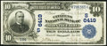 National Bank Notes:Kentucky, Monticello, KY - $10 1902 Date Back Fr. 616 The Citizens NB Ch. #(S)6419. ...