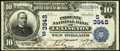 National Bank Notes:Kentucky, Lexington, KY - $10 1902 Date Back Fr. 618 The Phoenix NB Ch. #(S)3942. ...