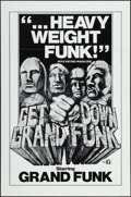 "Movie Posters:Rock and Roll, Get Down Grand Funk (Craddock Films, R-1970s). One Sheets (5)Identical (27"" X 41""). Rock and Roll.. ... (Total: 5 Items)"