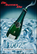 """Movie Posters:James Bond, James Bond/Bollinger Champagne & Other Lot (United Artists, 1997, 2002). Tie-In Advertising Posters (3) (23.75"""" X 31.5"""", 23.... (Total: 3 Items)"""