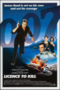 "Movie Posters:James Bond, Licence to Kill (United Artists, 1989). International One Sheet(26.75"" X 39.75""). James Bond.. ..."