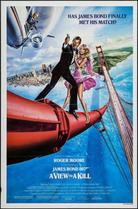 """A View to a Kill (United Artists, 1985). One Sheet (27"""" X 41""""). James Bond"""