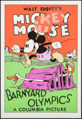 "Movie Posters:Animation, Barnyard Olympics (Circle Fine Art, R-1980s). Fine Art Serigraphs (5) (Identical) (21"" X 30.75""). Animation.. ... (Total: 5 Items)"