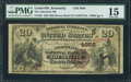 National Bank Notes:Kentucky, Louisville, KY - $20 1882 Brown Back Fr. 501 The American NB Ch. #(S)4956. ...