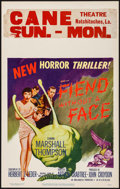 """Movie Posters:Science Fiction, Fiend without a Face (MGM, 1958). Window Card (14"""" X 22""""). ScienceFiction.. ..."""