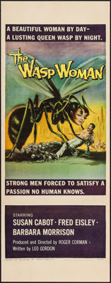 """The Wasp Woman (Film Group, 1959). Insert (14"""" X 36""""). Science Fiction"""