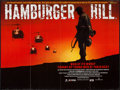 "Movie Posters:War, Hamburger Hill (Interaccess Film Distributors, 1987). British Quad(30"" X 40""). War.. ..."
