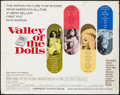 "Movie Posters:Exploitation, Valley of the Dolls (20th Century Fox, 1967). Half Sheet (22"" X 28""). Exploitation.. ..."