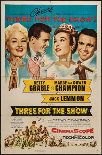 "Three for the Show & Others Lot (Columbia, 1954). One Sheets (4) (27"" X 41""). Musical. ... (Total: 4 Items..."