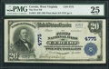 National Bank Notes:West Virginia, Ceredo, WV - $20 1902 Plain Back Fr. 654 The First NB Ch. # 4775. ...