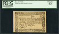 Colonial Notes:South Carolina, South Carolina December 23, 1776 $2 PCGS Choice New 63.. ...