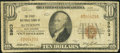 National Bank Notes:West Virginia, Alderson, WV - $10 1929 Ty. 1 The First NB Ch. # 5903. ...