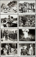"Movie Posters:War, The Green Berets (Warner Brothers, 1968). Photos (15) (approx. 8"" X10""). War.. ... (Total: 15 Items)"