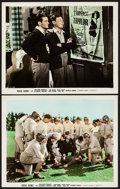 "Movie Posters:Comedy, Rose Bowl (Paramount, 1936). Color Glos Photos (2) (8"" X 10""). Comedy.. ... (Total: 2 Items)"