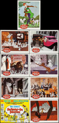 "Movie Posters:Animation, 101 Dalmatians (Buena Vista, 1961). Lobby Card Set of 9 (11"" X14""). Animation.. ... (Total: 9 Items)"