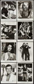 "Movie Posters:James Bond, Moonraker (United Artists, 1979). Photo Set of 24 (8"" X 10""). James Bond.. ... (Total: 24 Items)"