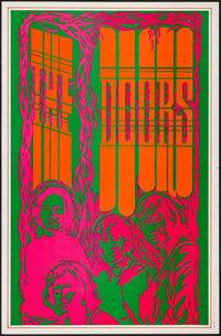 "The Doors (Galadin Productions, 1967). Personality Poster (13"" X 20""). Rock and Roll"