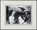 "Movie Posters:Western, Jennifer Jones and Gregory Peck in Duel in the Sun (1970s). Autographed Matted Reproduction Photo (10.75"" X 13""). Western.. ..."