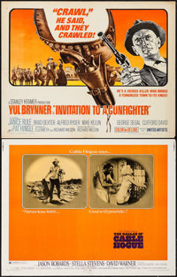 "The Ballad of Cable Hogue & Others Lot (Warner Brothers, 1970). Half Sheets (19) (22"" X 28""). Western..."
