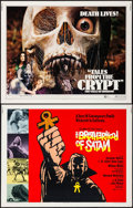 """Movie Posters:Horror, The Brotherhood of Satan & Others Lot (Columbia, 1971). Half Sheets (9) (22"""" X 28""""). Horror.. ... (Total: 9 Items)"""