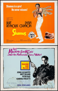 "Machine Gun McCain & Others Lot (Columbia, 1970). Half Sheets (16) (22"" X 28""). Crime. ... (Total: 16..."