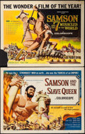 "Movie Posters:Action, Samson and the Slave Queen & Others Lot (American International, 1964). Half Sheets (10) (22"" X 28""). Action.. ... (Total: 10 Items)"