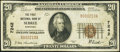 National Bank Notes:Kentucky, Sebree, KY - $20 1929 Ty. 1 The First NB Ch. # 7242. ...