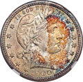 Barber Quarters, 1900 25C MS67+ NGC....