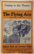 "Entertainment Collectibles:Movie, Press Sheet for The Flying Ace, A 1926 ""All Colored Cast""Silent Film..."