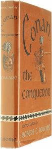Books:First Editions, Conan the Conqueror by Robert E. Howard (Gnome Press, 1950)Condition: VG....