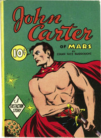 Big Little Book #nn John Carter of Mars Fast-Action Story (Whitman, 1940) Condition: VF+