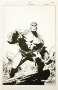 Original Comic Art:Covers, Jim Cheung and John Dell - Hulk Unchained #1 Cover Original Art(Marvel, 2004)....