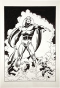 Original Comic Art:Covers, John Buscema - Avengers #57 Cover Recreation Original Art(undated). ...