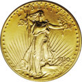 Proof Saint-Gaudens Double Eagles: , 1910 $20 PR66 PCGS. The gold coinage of this year presents thestudent with challenges. Mint records indicate a remarkably ...