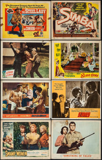 "Swamp Women & Others Lot (Woolner Brothers, 1956). Lobby Cards (82) (11"" X 14""). Bad Girl. ... (Total:..."
