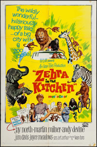"Zebra in the Kitchen & Others Lot (MGM, 1965). One Sheets (22) (27"" X 41""), Posters (2) Identical (30""..."