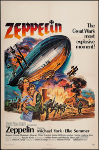 "Zeppelin & Others Lot (Warner Brothers, 1971). One Sheets (14) (27"" X 41""). War. ... (Total: 14 Items)"